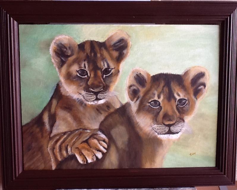 lion cubs jan 2019