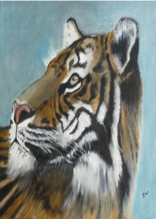 Tigers head 01